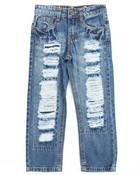 Rip & Repair Denim Jeans (4-7)