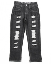 Akademiks - Rip & Repair Denim Jeans (8-20)