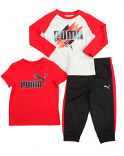 Sizes 2T-4T - Toddler - 3 Piece Tees & Jogger Set (2T-4T)