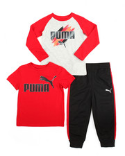 Sets - 3 Piece Tees & Jogger Set (4-7)