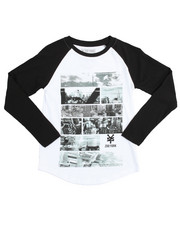 Boys - L/S Distortion Tee (8-20)