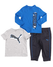 Puma - 3 Piece Tees & Jogger Set (Infant)