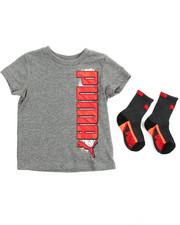 Sizes 2T-4T - Toddler - S/S Tee & Socks (2T-4T)