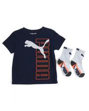 Sets - S/S Tee & Socks (2T-4T)
