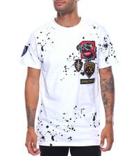 Buyers Picks - S/S Bad Kids Patched Splatter Tee