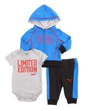 Sets - 3 Piece Hoody, Onesie & Pant Set (Infant)
