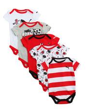 Sets - 5 Pack Bodysuit Short Set (Infant)