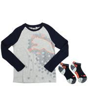 Puma - L/S Raglan Tee & Sock (8-20)