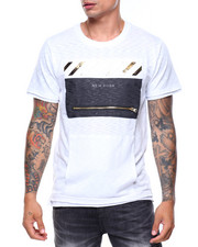 Men - Embossed Gold Foil Tee