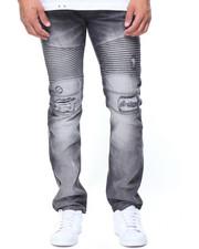 Men - Biker Moto Jeans