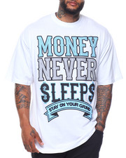 Buyers Picks - Money Never Sleeps S/S Tee (B&T)