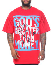 Buyers Picks - God's Greater Than Money S/S Tee (B&T)
