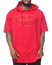 Shirts - Bagboys Rhinestone S/S Hoodie (B&T)