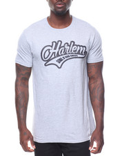 Men - S/S Harlem Tee Raised Letters
