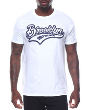 Men - S/S Brooklyn Tee Raised Letters