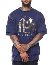 Men - Money Makers Double Layer Foil S/S Tee (B&T)
