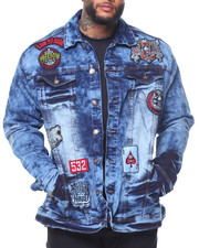 Men - Patch Denim Jacket (B&T)