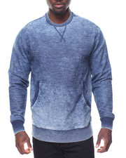 Men - L/S Fleece Denim Top