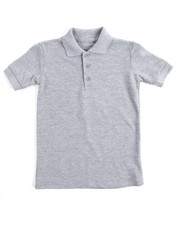 Arcade Styles - S/S Solid Pique Polo (4-7)