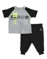 Sets - Lead With Speed Tee/ Jogger Set (Infant)