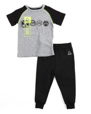Sets - Lead With Speed Tee/ Jogger Set (4-7)