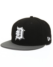 Snapback - 9Fifty Faux Nubuck Detroit Tigers Snapbacks