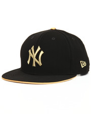 Snapback - 9Fifty Faux Nubuck & Metallic New York Yankees Snapback