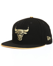 Snapback - 9Fifty Faux Nubuck & Metallic Chicago Bulls Snapbacks