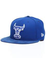 Snapback - 9Fifty Bright Royal Chicago Bulls Faux leather Snapback