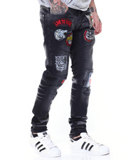 Jeans & Pants - Patchwork Denim Jeans