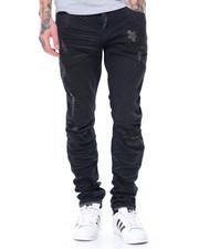 Jeans & Pants - Basic Knee Split Pant