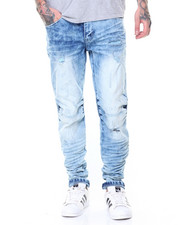 Men - Basic Rip Off Denim