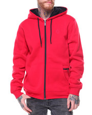 Hoodies - Corey Poly Fleece Hoodie Cell Pocket Pouch