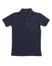 Sizes 4-7x - Kids - S/S Solid Pique Polo (4-7)