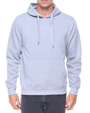 Hoodies - Basic Pullover Fleece Hoodie