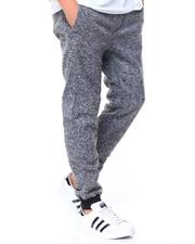 Sweatpants - Marled Fleece Joggers