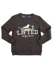 Sizes 8-20 - Big Kids - L/S Shotgun Crew Sweatshirt (8-20)
