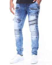 Jeans & Pants - Pocket/Zip Moto Jeans
