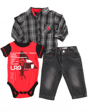 Sets - 3 Piece Woven Set (Infant)