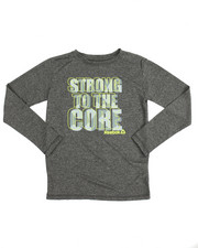 Sizes 8-20 - Big Kids - Strong To The Core L/S Tee (8-20)