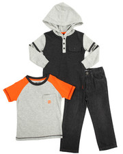 Sets - Uptown Boy 3 Piece Set (2-4)
