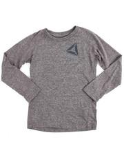 T-Shirts - Logo Tilt L/S Tee (4-7)