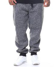 Sweatpants - Marled Fleece Joggers (B&T)