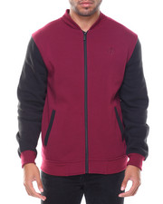 Akademiks - Hanover Baseball Fleece Jacket