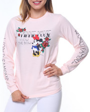 Graphix Gallery - Minnie World Famous Sleeve Hit L/S Tee