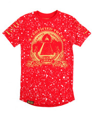 Short-Sleeve - Allover Splash Foil Tee (8-20)