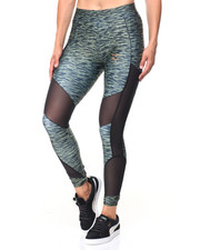 Women - ALL OVER PRINT VELVET ROPE LEGGINGS
