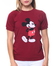 Graphix Gallery - Mickey S/S Fleece Sweatshirt