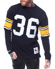 Mitchell & Ness - Jersey Inspired Knit Top- Jerome Bettis