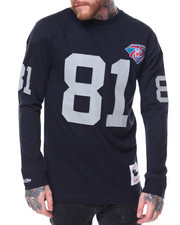 Mitchell & Ness - Jersey Inspired Knit Top- Tim Brown